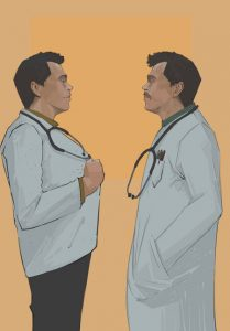 """""""It is not easy to become a doctor, it is even harder to be a doctor."""" books to read"""