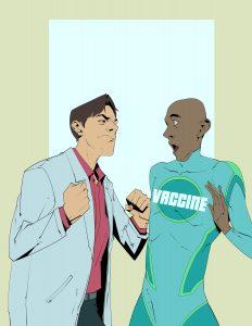 Vaccine friend or foe
